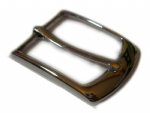 30mm Zinc, Chrome Plated Belt Buckle. Code BUC031